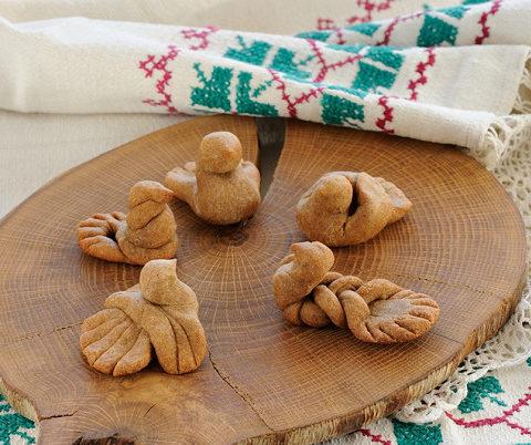 История названий обрядового хлеба у славян