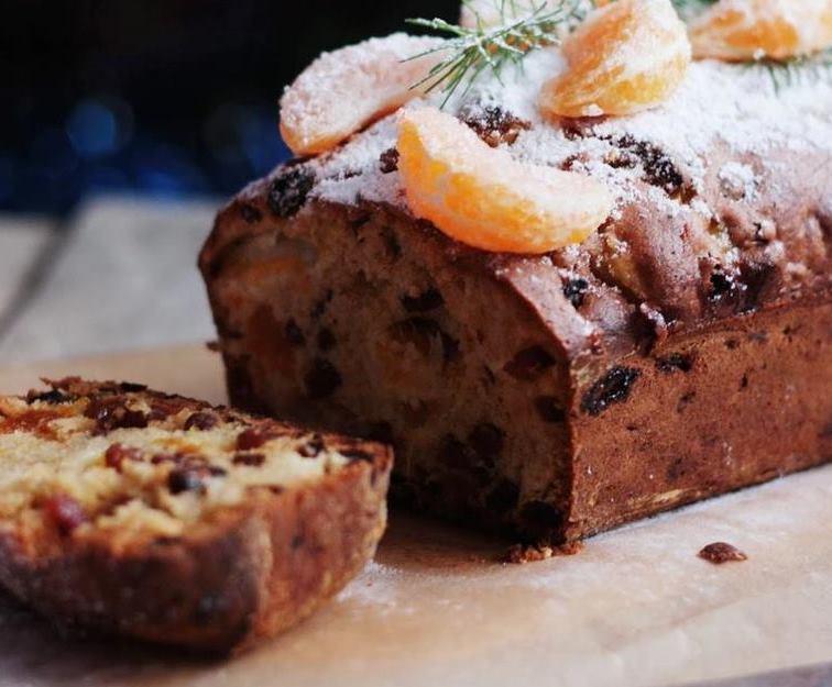 Ромовый кекс с цукатами