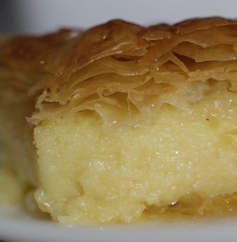 Галактобуреко (греческий слоеный пирог)
