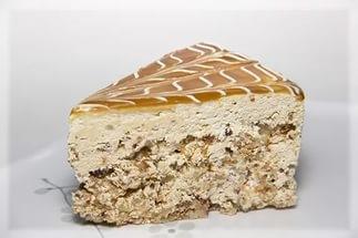 Яблочный пирог со штрейзелем и грецкими орехами