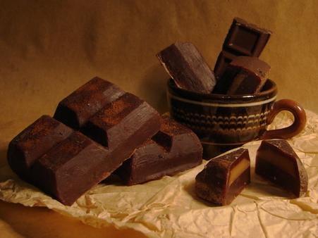 Красивая картинка с шоколадом 1