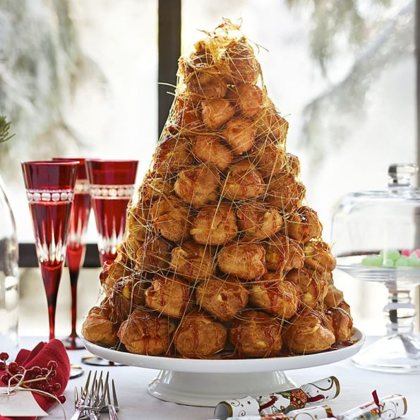 Заварное тесто: Saint-Honoré и Croquembouche.