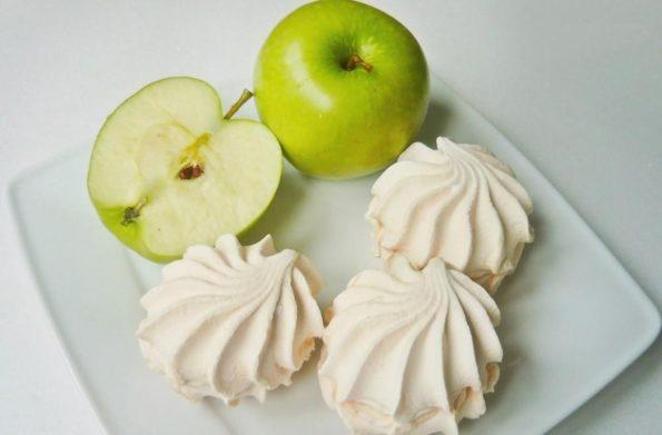 Зефир с яблоками