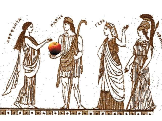 Древнегреческий миф. Яблоко раздора.