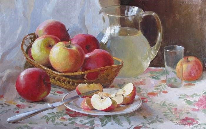 За что мы любим яблоки?!