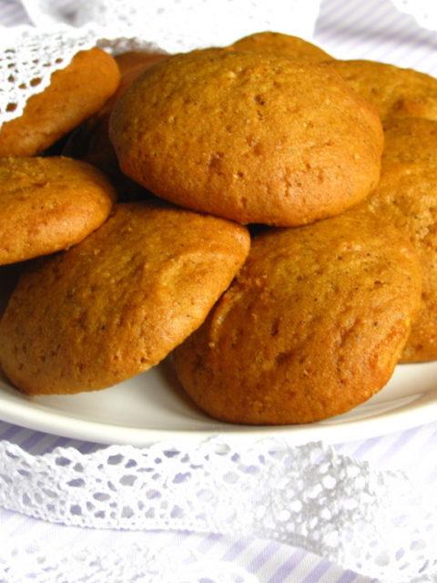 Печенье из тыквы с орехами