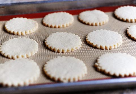Песочное печенье с солью