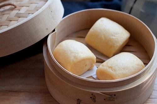 Маньтоу. Китайские паровые пампушки.