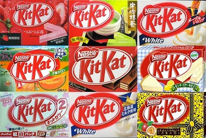 Разновидности Kit Kat