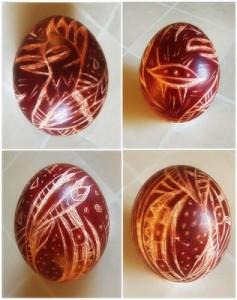 яйца крашенные с мраморным эффуктом