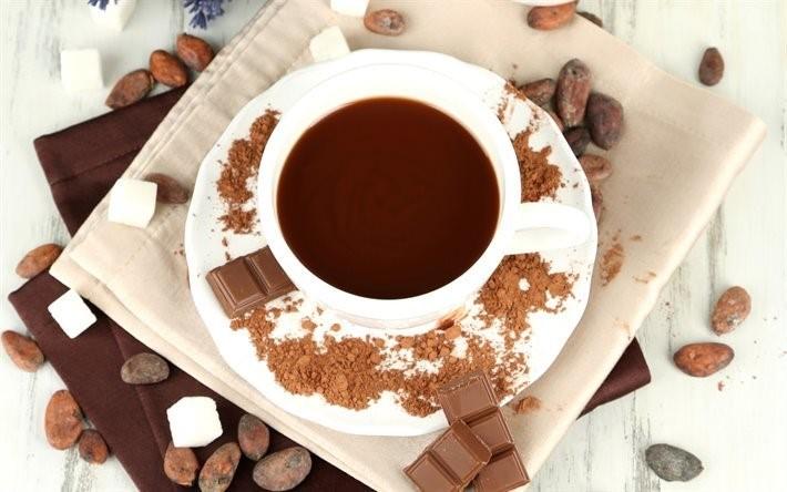 Горячий шоколад «Из чашки»