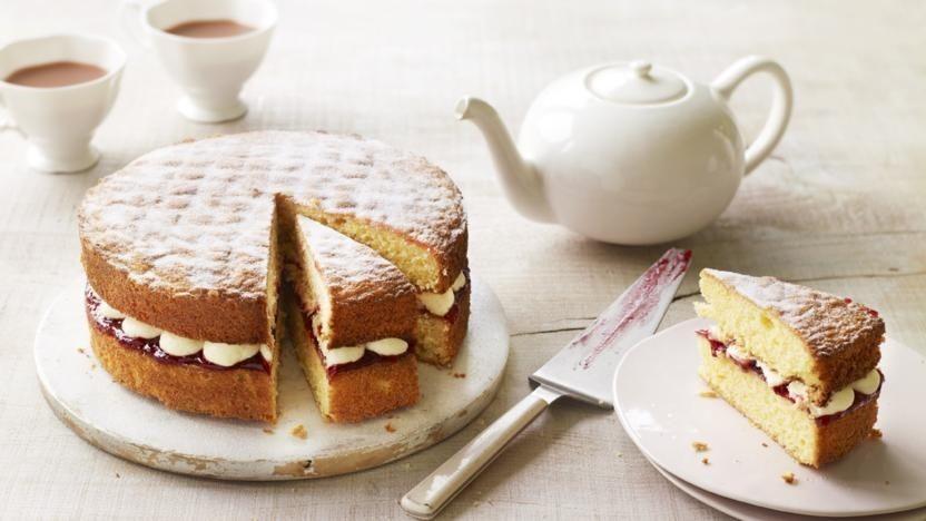 Торт-сэндвич «Виктория»