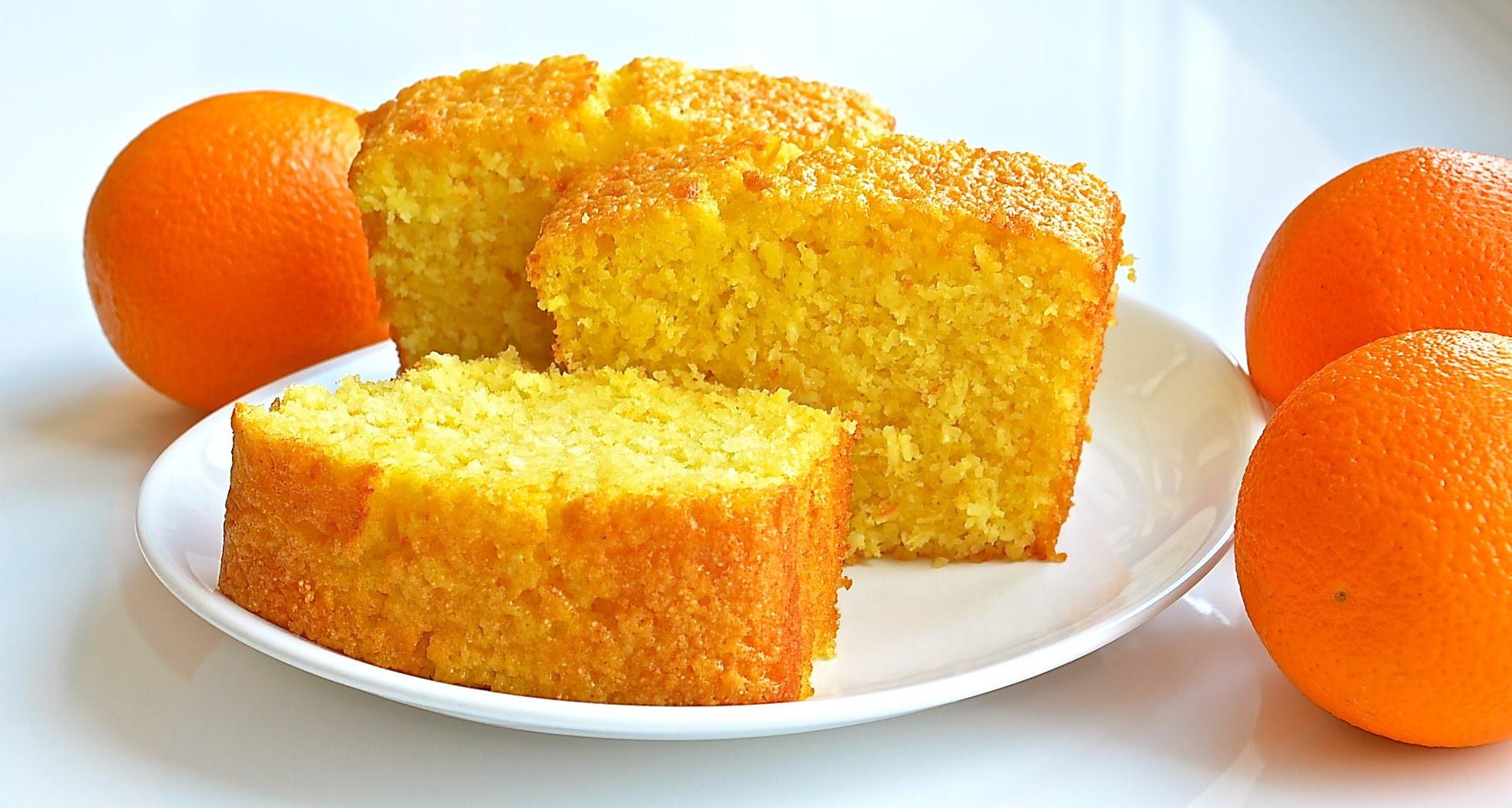 Апельсиновый пирог по-старинному