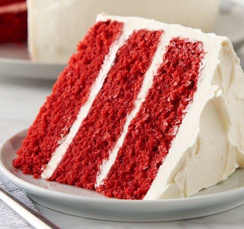 Красный-прекрасный Red Velvet cake